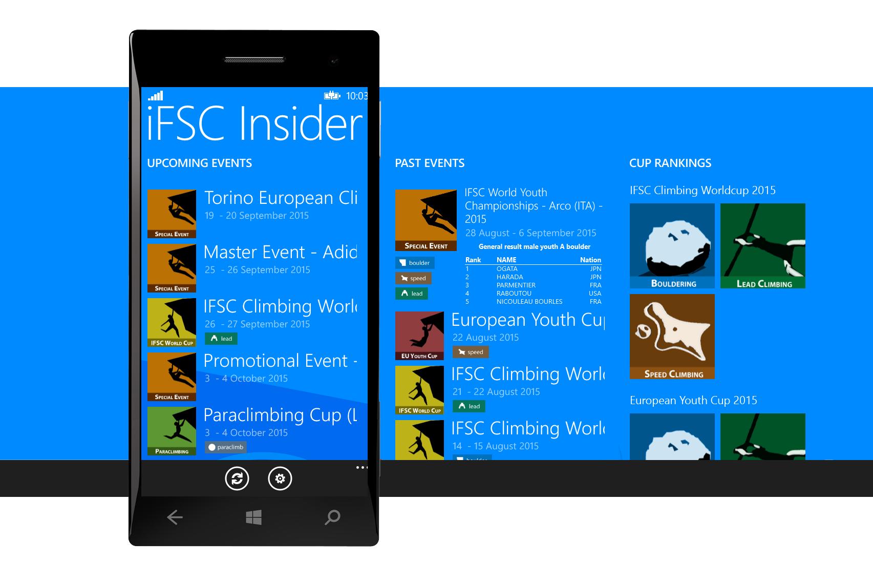 IFSC INSIDER – Adam Westerski | Homepage